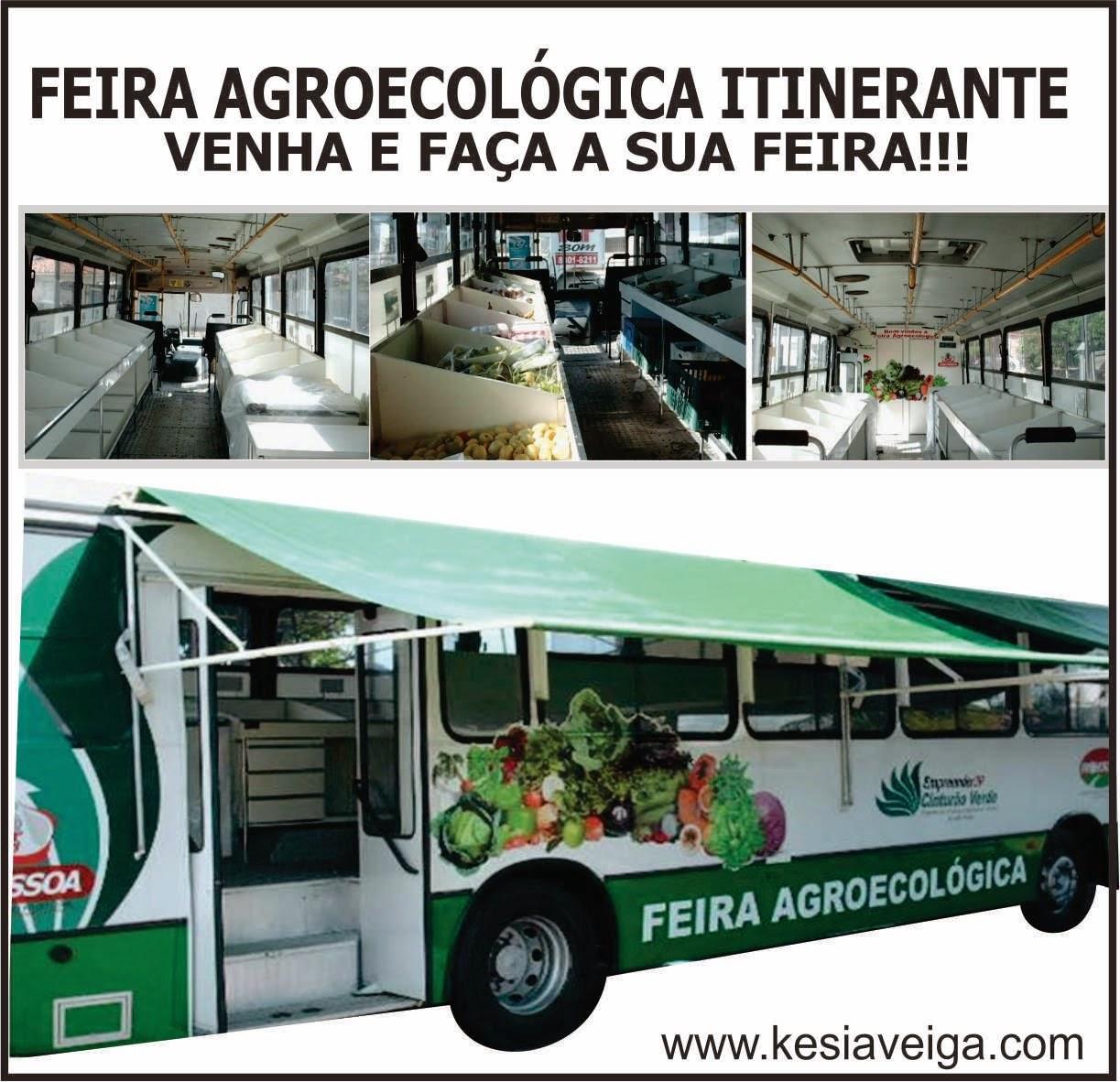 FEIRA ITINERANTE AGROECOLÓGICA