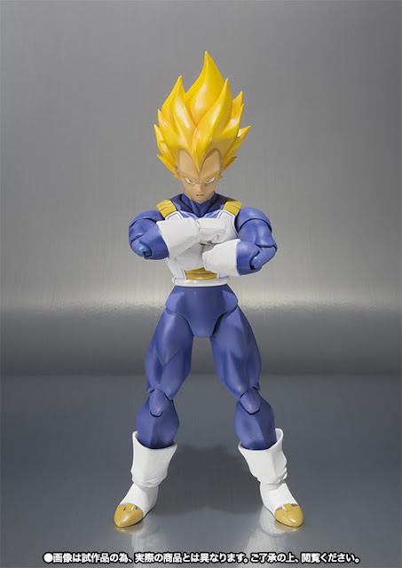 action figure Vegeta Super Saiyan Advanced Color