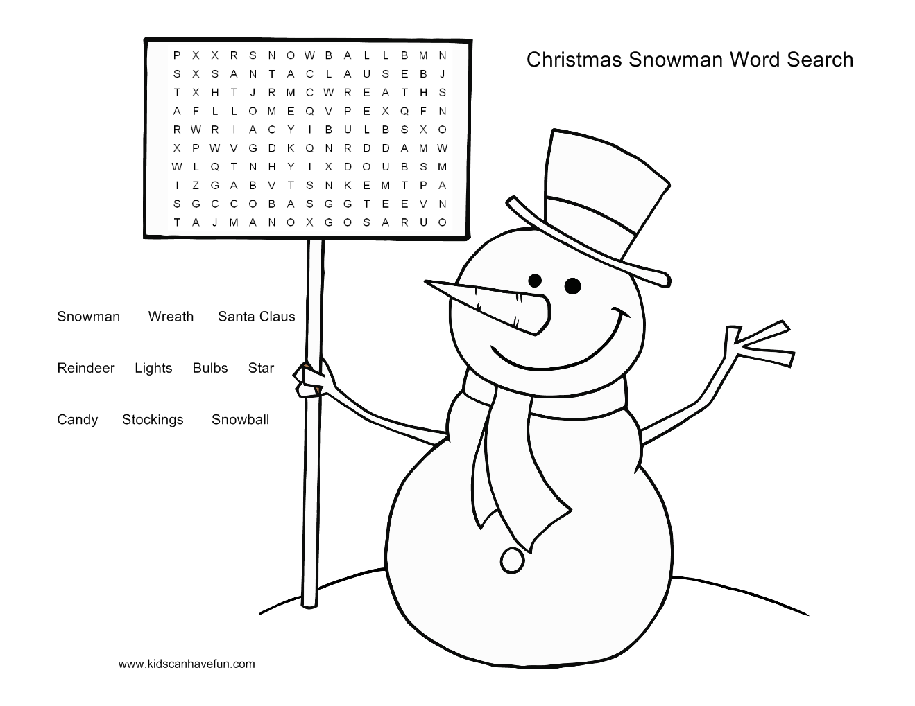 7 wordsearch for kids printable for free christmas day christmas wordsearch for kids printable for free 2 robcynllc Image collections