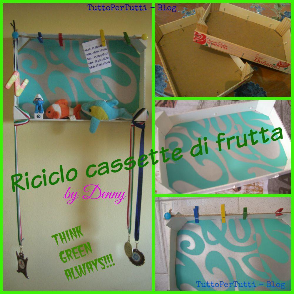 Tuttopertutti riciclo cassette della frutta for Cassette di plastica riciclo