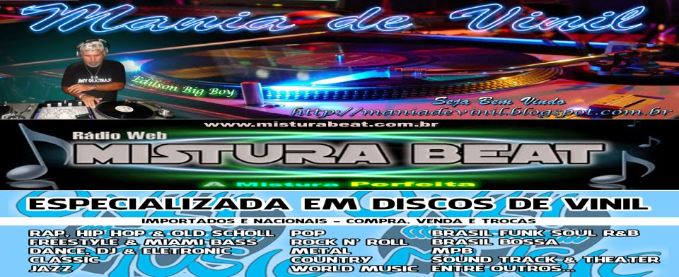 MANIA DE VINIL - EDILSON BIG BOY DJ