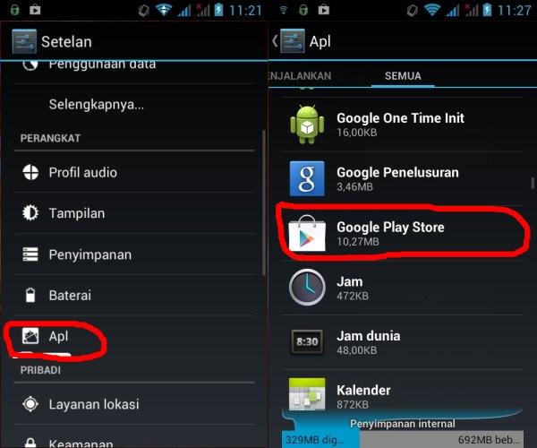 Trik untuk Mengatasi Masalah Unfortunately, Google play store has ...
