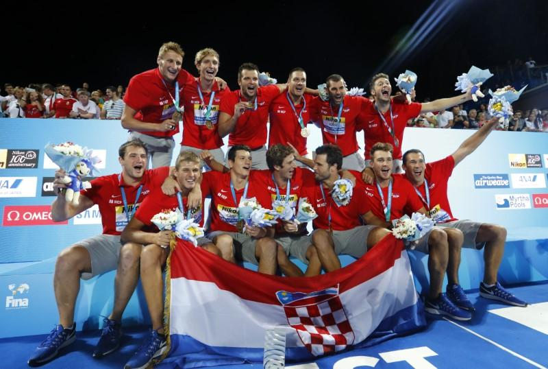 Croatia - World Champion Men, Budapest 2017