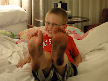 Boys Barefoot Day - Bing