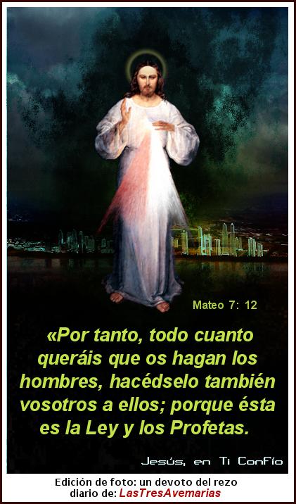 jesus con mateo 7:12