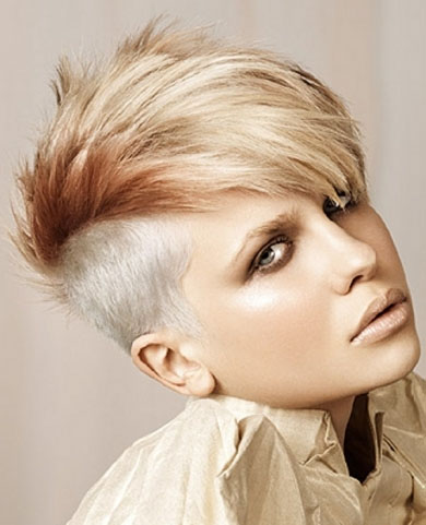 Undercut Punk Hair Style 2014