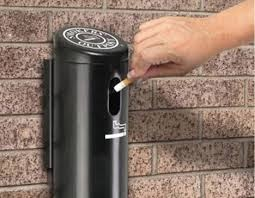 Online Outdoor Cigarette Bins Keep Your Outdoors Clean