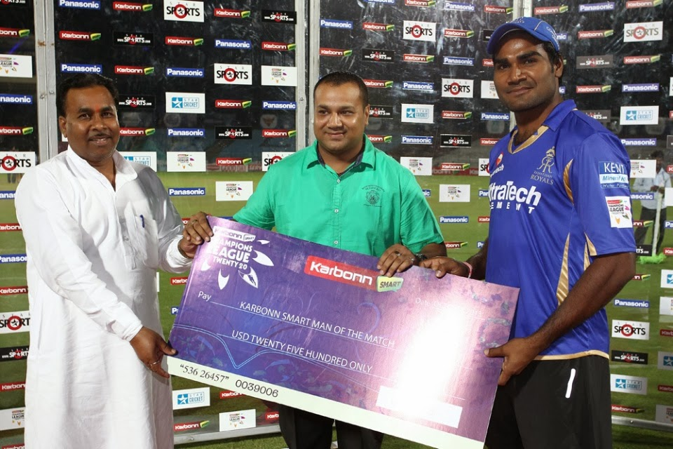 Rahul-Shukla-Man-of-the-Match-Rajasthan-Royals-vs-Otago-Volts-M18-CLT20-2013