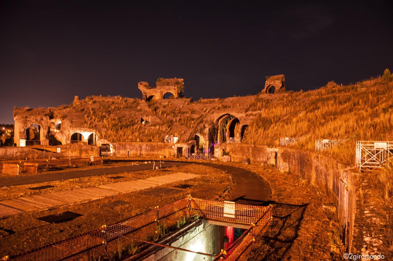 Inside Amphitheatre of Santa Maria Capua Vetere