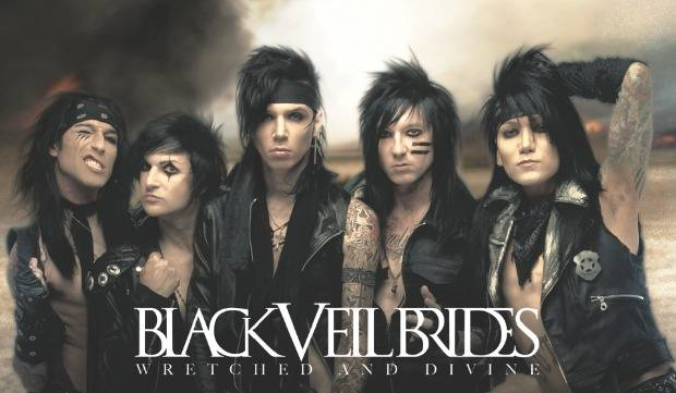 black veil brides wretched and divine cover