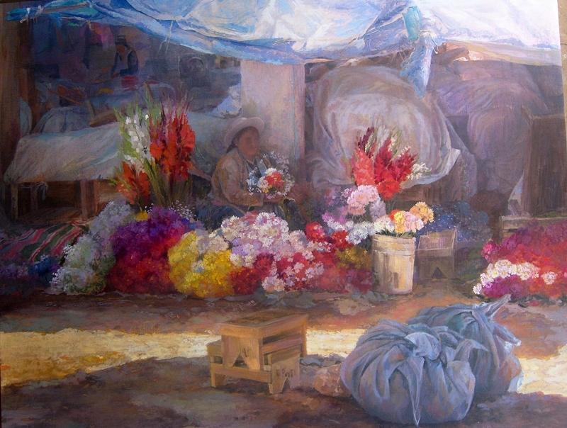 Remy Daza Rojas | Bolivian Figurative painter