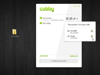 cubby sync