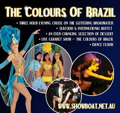 The Colours of Brazil Dinner Cruise