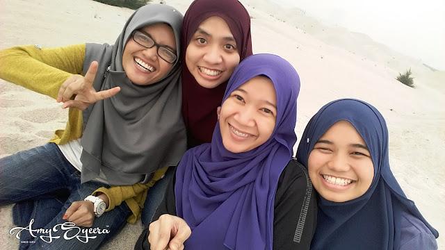 Sehari di Melaka | Padang Pasir Pantai Klebang