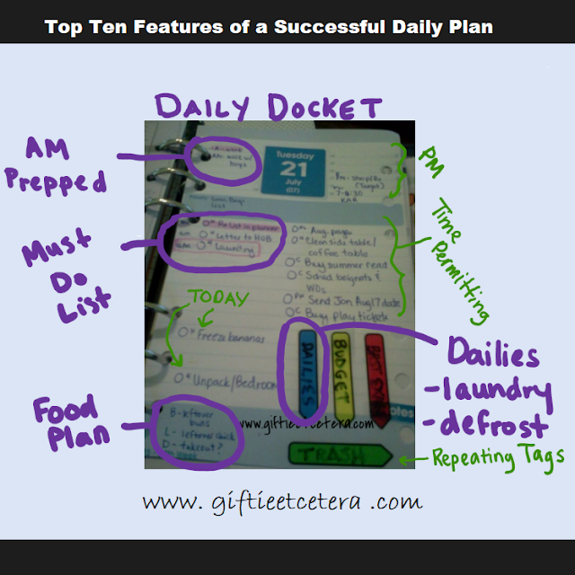 daily docket, daily, daily plan, planner