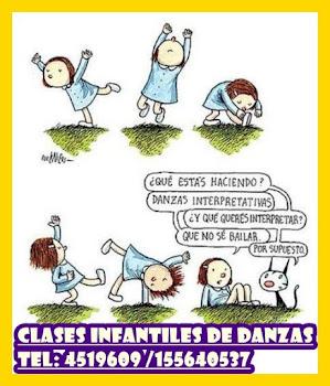 Clases de DANZAS INICIALES INFANTILES