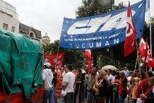 Marchamos en Tucumán defendiendo a los trabajadores