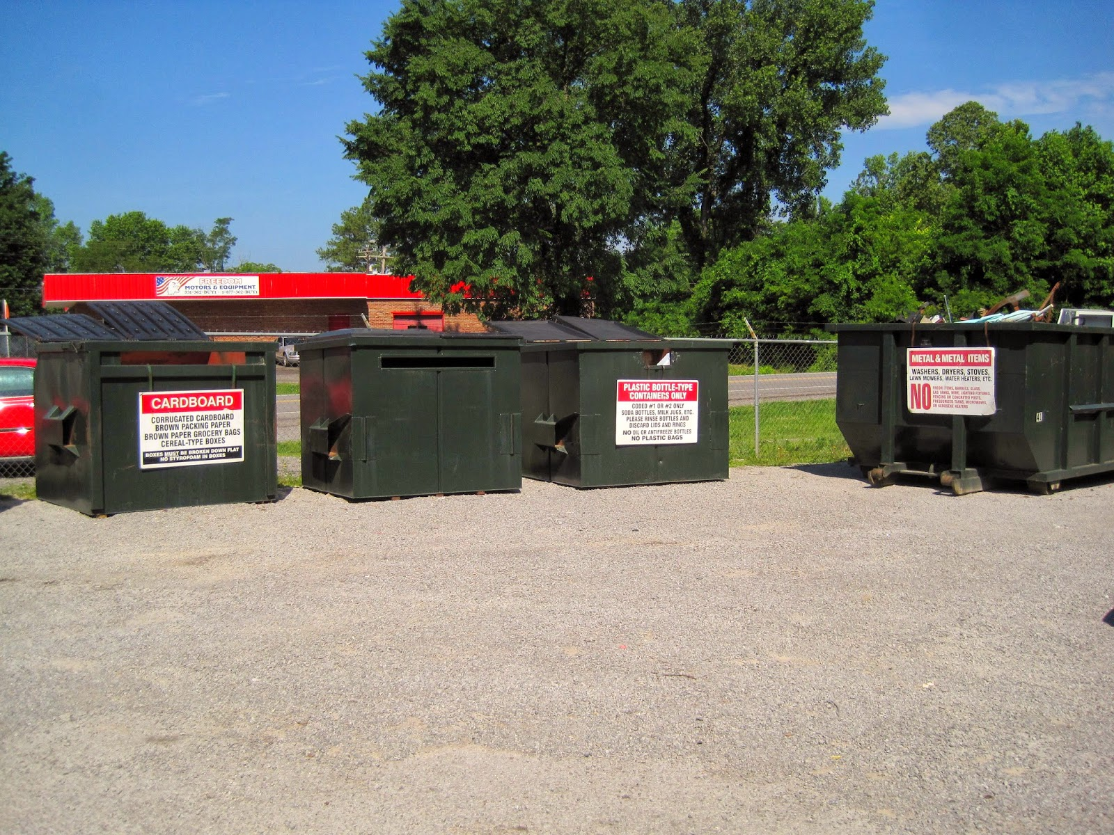 how to start a recycling center in my town