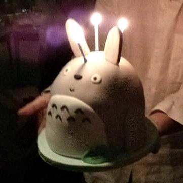 Cherie Kelly's Totoro Cake
