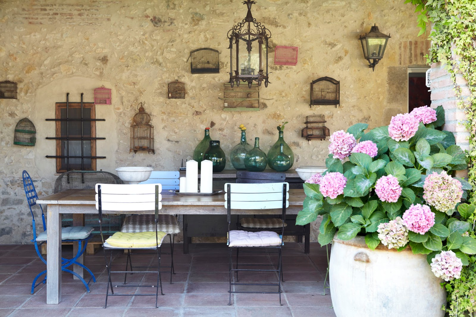 Decordemon can casi the place of the little luxuries - Casas rusticas con jardin ...