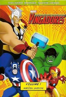 Assistir Os Vingadores - Heróis Unidos - Volume 1 Dublado Online