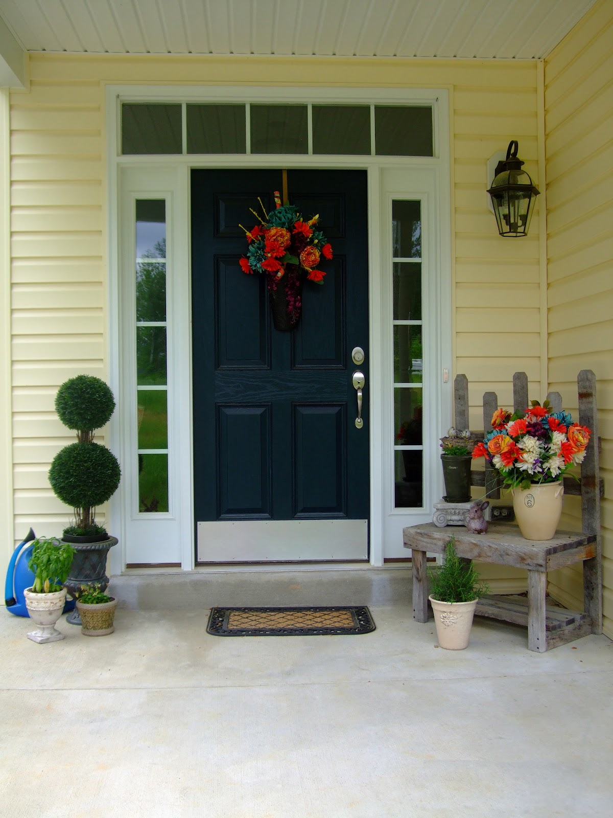 The embellished soul front doors Best color for front door to sell house