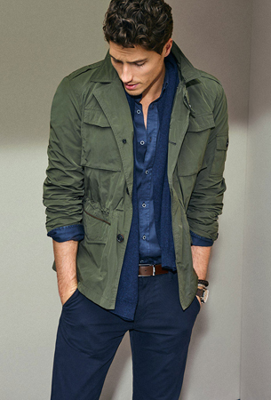 Massimo Dutti hombre chaqueta de la nueva colección 2016