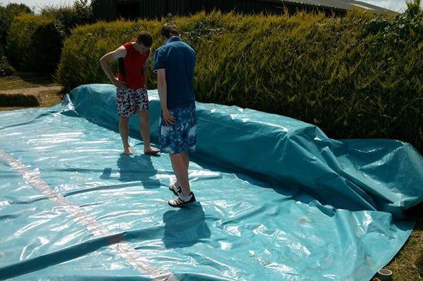 Planos para construir una piscina con for Fabricar piscina