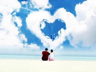 Background Power Point Love Cinta