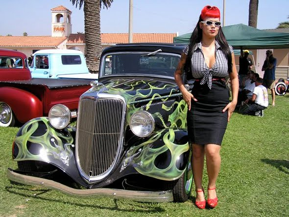 the modeling of a hot rod was considered a work of art and thus individuals loved to exhibit their re done cars to the public this generally happened at