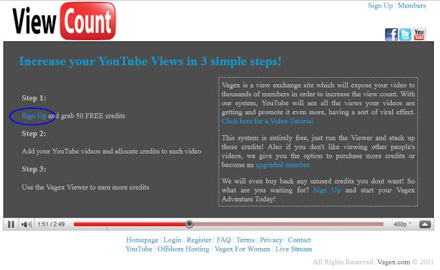 Vagex-Youtube自動掛網頁瀏覽賺錢