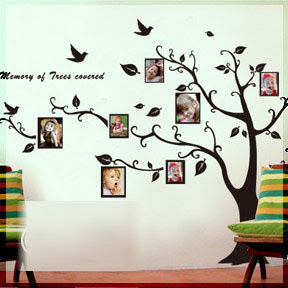 Wall Decor Decals | Interior Decorating