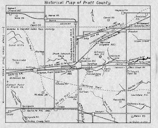 A few things on Saratoga, Kansas -a dead town in Pratt County
