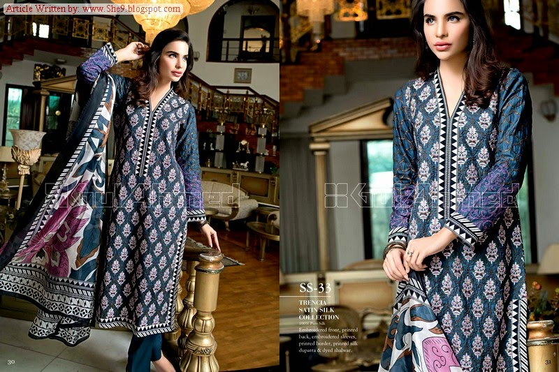 Gul Ahmed Cambric Summer Dresses