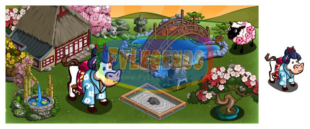 FarmVille Japanese Garden Theme - FvLegends.Com