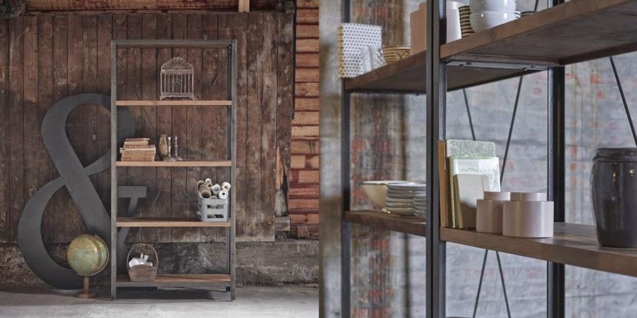La fabrique d co style industriel comment d corer fa on loft ou atelier - Etagere murale style industriel ...