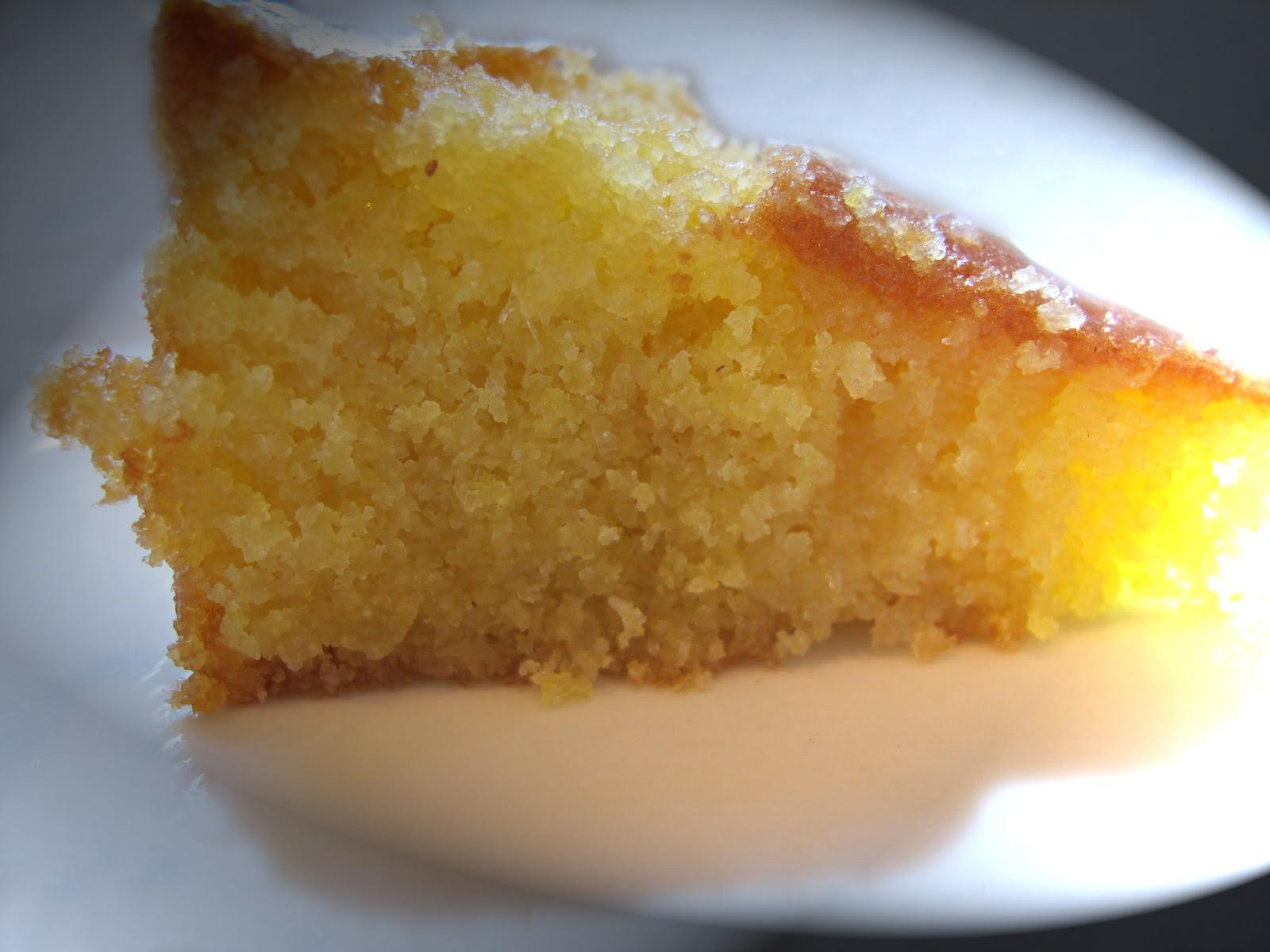Lemon polenta cake | Chef Wise