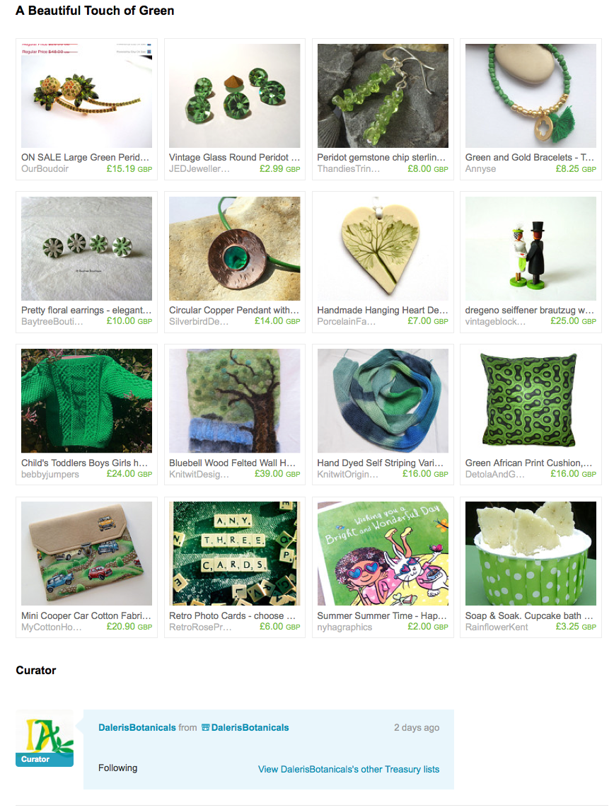 https://www.etsy.com/treasury/NDc3MjEyMDl8MjcyNjM3OTE0Ng/a-beautiful-touch-of-green