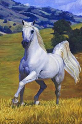 caballos-pintados-en-oleo
