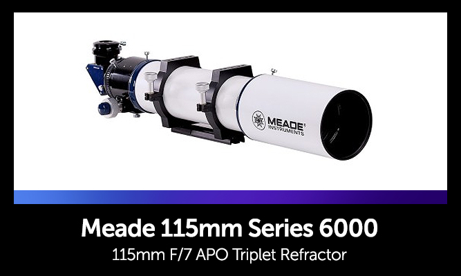 Astrophotography Telescopes - Meade 115mm