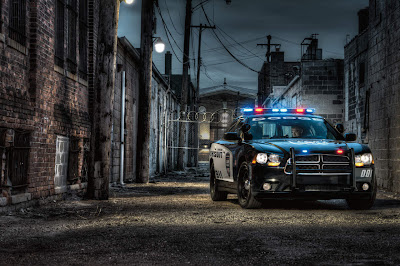 Dodge Charger Cop Car Walpaper