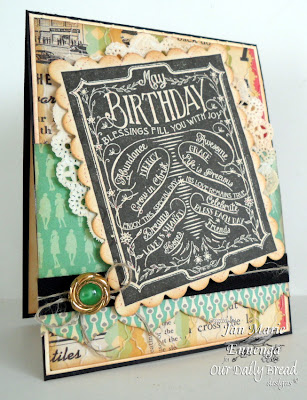 Chalkboard Birthday and Thanks