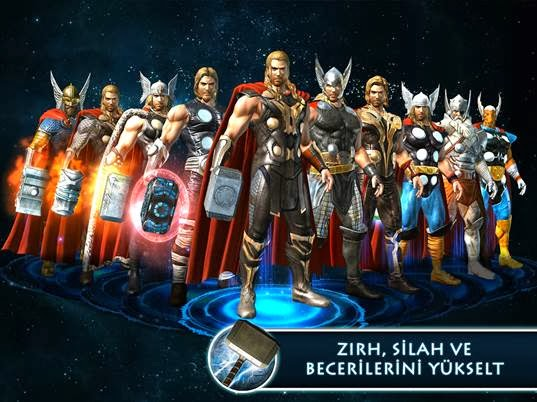 Thor karanlık dünya ios android oyunu yayınlandı indir