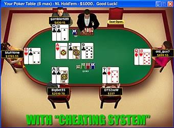 Online poker cheater caisson informatique roulette