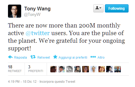 twitter 200 milioni utenti attivi