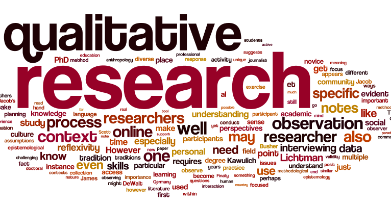 qualitative reasearch Criteria qualitative research quantitative research purpose to understand & interpret social interactions to test hypotheses, look at cause & effect.