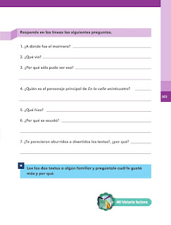 Apoyo Primaria Español 1er grado Bimestre 3 lección 12 ¿Qué le pasó al marinero?