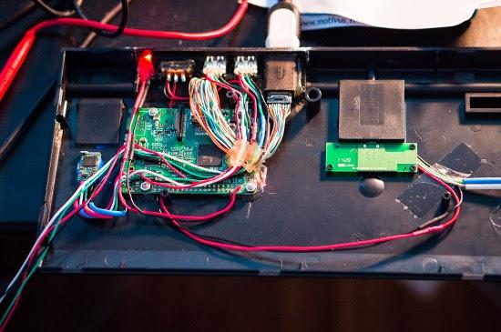 conexões elétricas com o Raspberry Pi
