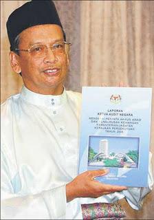 Tan Sri Ambrin Buang, ketua audit negara malaysia