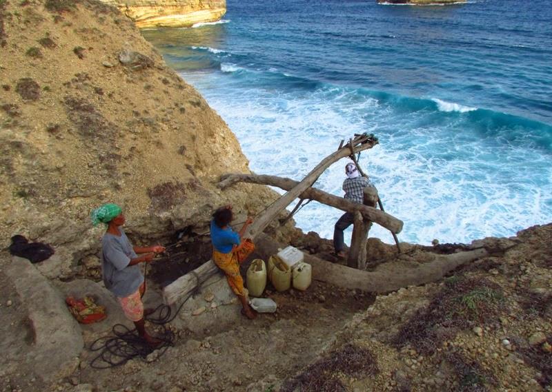 air bersih, kekeringan, krisis air bersih, lombok selatan